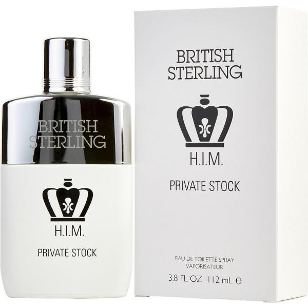 British sterling him private stock -  eau de toilette spray 112 ml