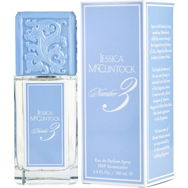 Number 3 - jessica mcclintock eau de parfum spray 100 ml