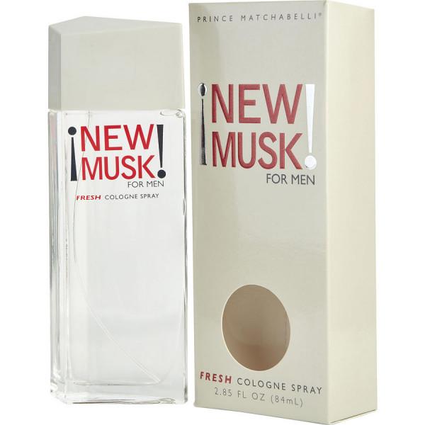New musk for men -  cologne spray 84 ml