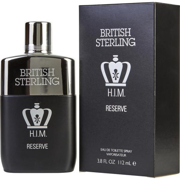 British sterling him reserve -  eau de toilette spray 112 ml