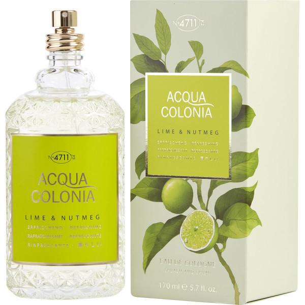 Acqua colonia citron vert & noix de muscade -  cologne spray 170 ml