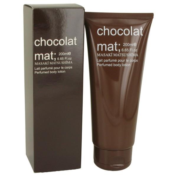 Chocolat mat -  lait parfumé pour le corps 200 ml