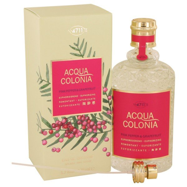 Acqua colonia poivre rose & pamplemousse -  eau de cologne spray 170 ml