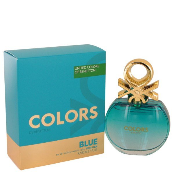 Colors blue -  eau de toilette spray 80 ml