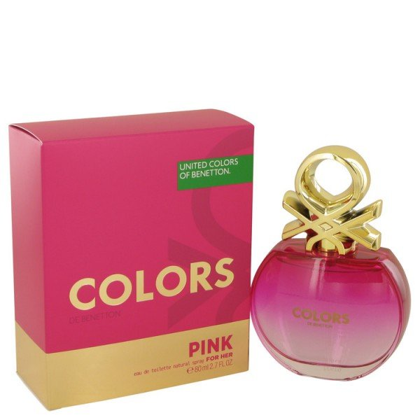 Colors pink -  eau de toilette spray 80 ml