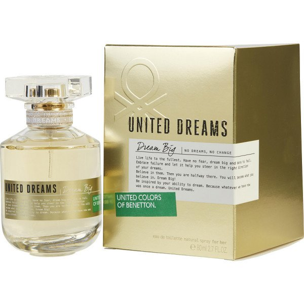 United dreams dream big -  eau de toilette spray 80 ml
