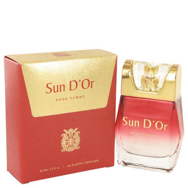 Sun d'or -  eau de parfum spray 80 ml