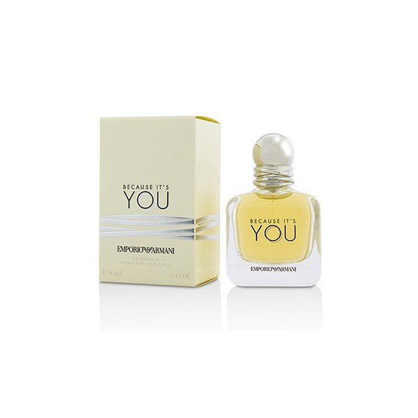 Emporio  because it's you - giorgio  eau de parfum spray 50 ml