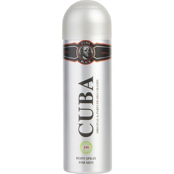 black - fragluxe spray pour le corps 200 ml