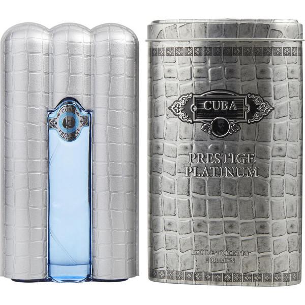 prestige platinum - fragluxe eau de toilette spray 90 ml