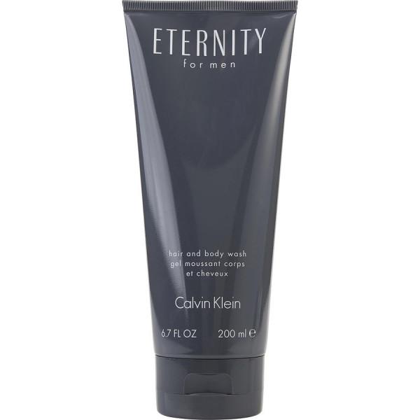 Eternity pour homme -  gel moussant pour le corps et les cheveux 200 ml