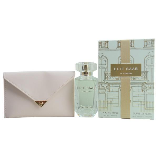 Le parfum l'eau couture - elie saab coffret cadeau 50 ml