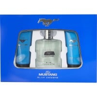 Ford Mustang Blue Cologne