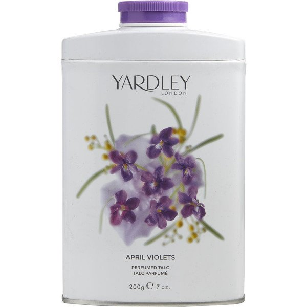 April violets -  talc 200 g
