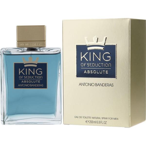 King of seduction absolute -  eau de toilette spray 200 ml