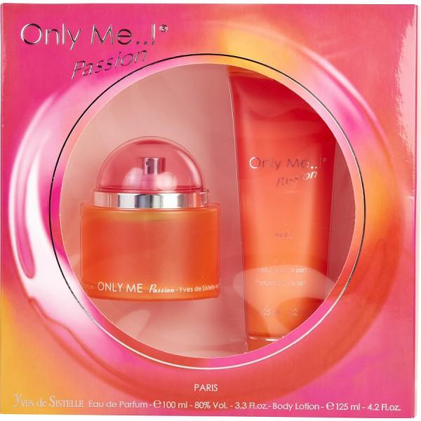 Only me passion -  coffret cadeau 125 ml