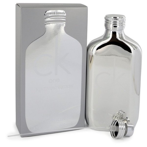Ck one platinum -  eau de toilette spray 200 ml