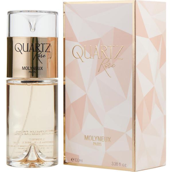 Quartz rose -  eau de parfum spray 100 ml
