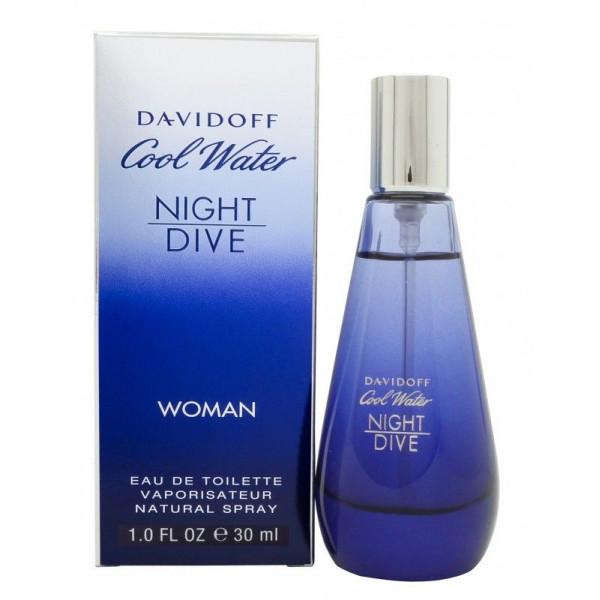 Cool water woman night dive -  eau de toilette spray 30 ml
