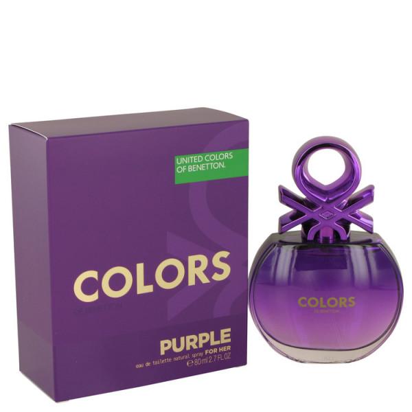 United colors of  purple -  eau de toilette spray 80 ml