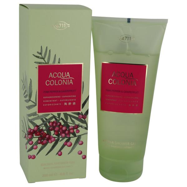 Acqua colonia poivre rose & pamplemousse -  gel douche 200 ml