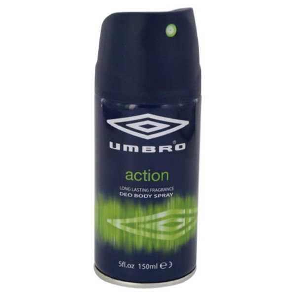 action -  spray pour le corps 150 ml