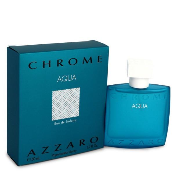 Chrome aqua -  eau de toilette spray 50 ml