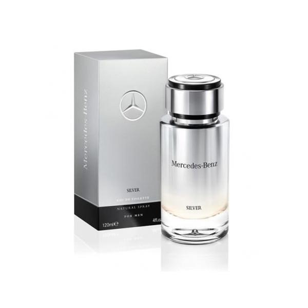 Silver men - mercedes-benz eau de toilette spray 120 ml