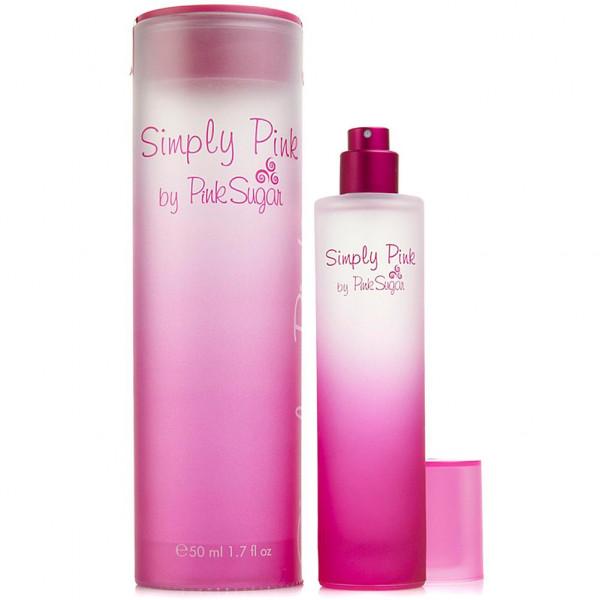 Simply pink -  eau de toilette spray 50 ml