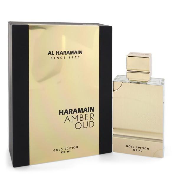 amber oud gold edition -  eau de parfum spray 120 ml