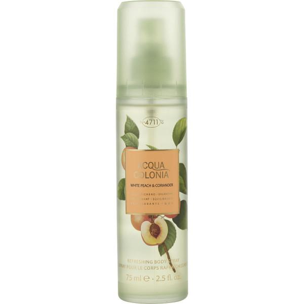 Acqua colonia white peach & coriander -  spray pour le corps 75 ml