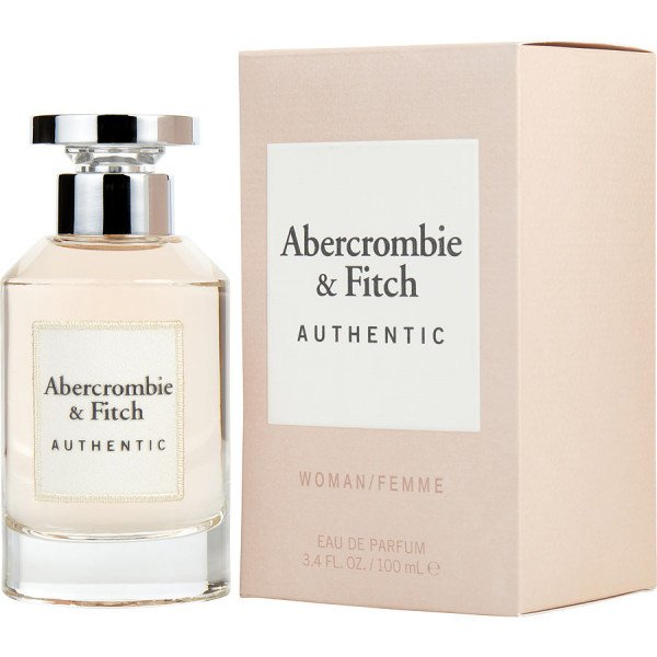 Authentic - abercrombie & fitch eau de parfum spray 100 ml