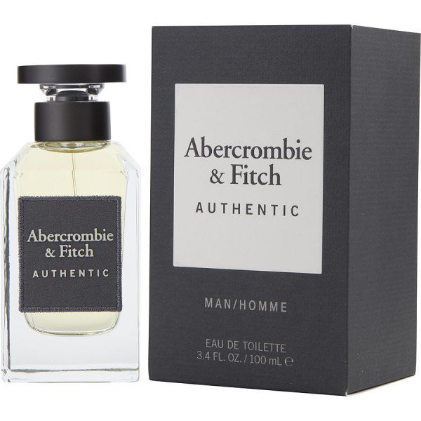 Authentic - abercrombie & fitch eau de toilette spray 100 ml