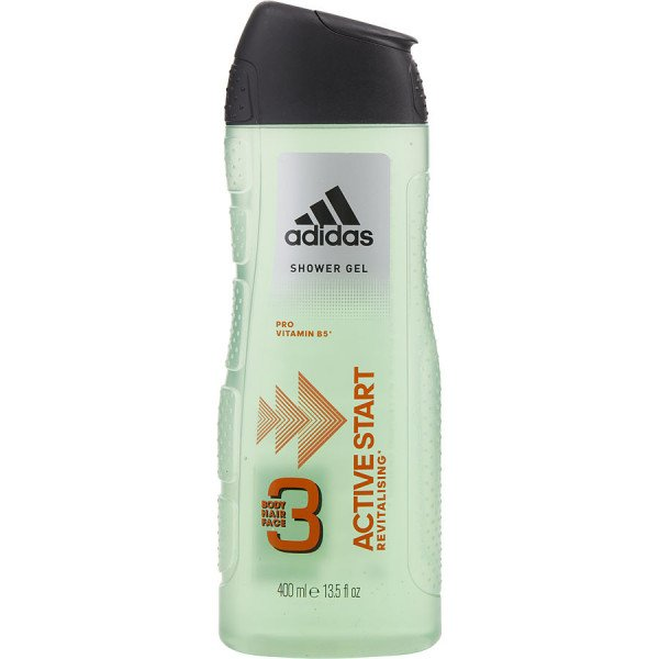 Active start -  gel douche corps et cheveux 400 ml
