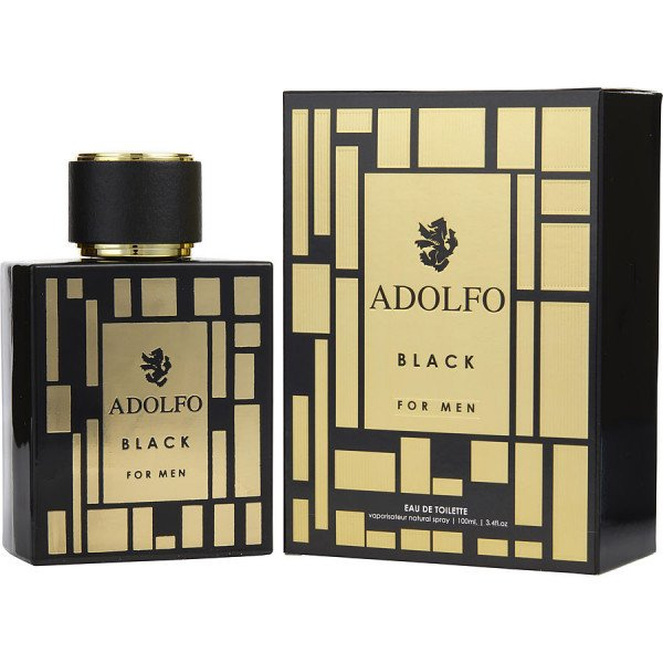 Adolfo black -  eau de toilette spray 100 ml