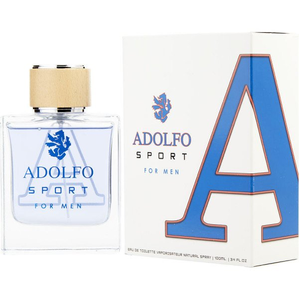 Adolfo sport -  eau de toilette spray 100 ml