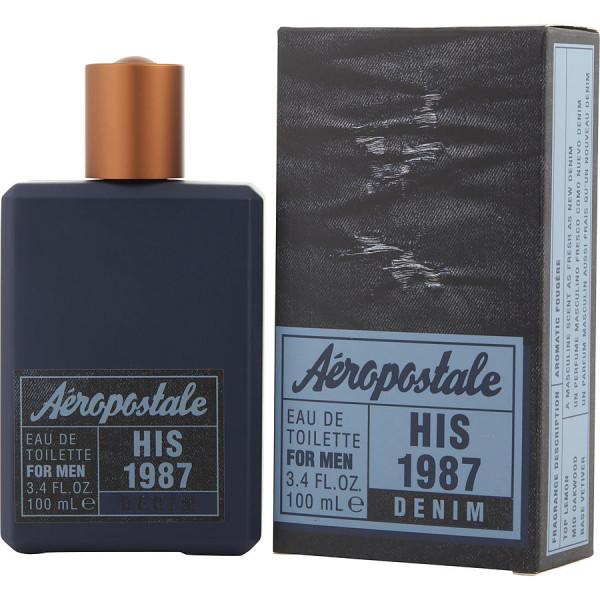 His 1987 denim - aéropostale eau de toilette spray 100 ml
