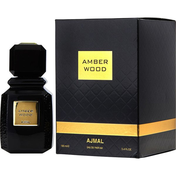 Amber wood -  eau de parfum spray 100 ml