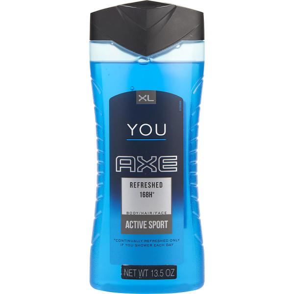 Active sport -  gel douche corps et cheveux 400 ml