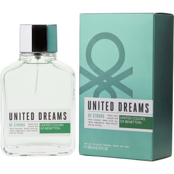 United dreams be strong -  eau de toilette spray 200 ml