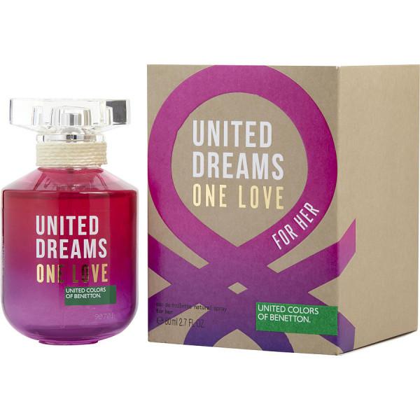 United dreams one love -  eau de toilette spray 80 ml