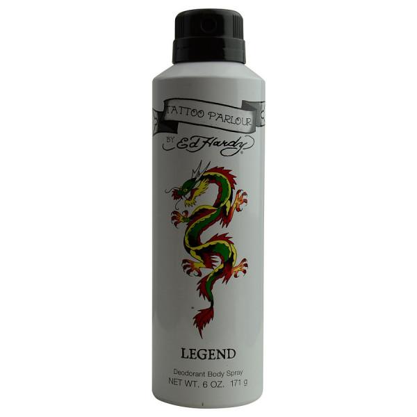 Ed hardy tattoo parlour -  spray pour le corps 180 ml