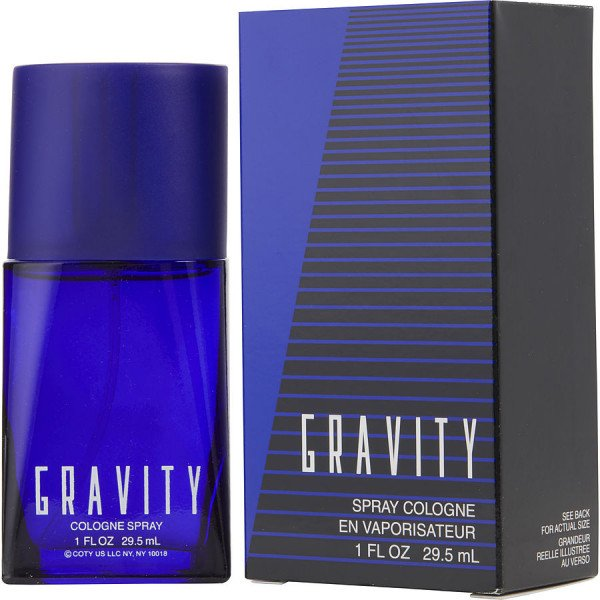 Gravity -  eau de cologne spray 30 ml