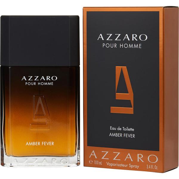 Azzaro pour homme amber fever -  eau de toilette spray 100 ml