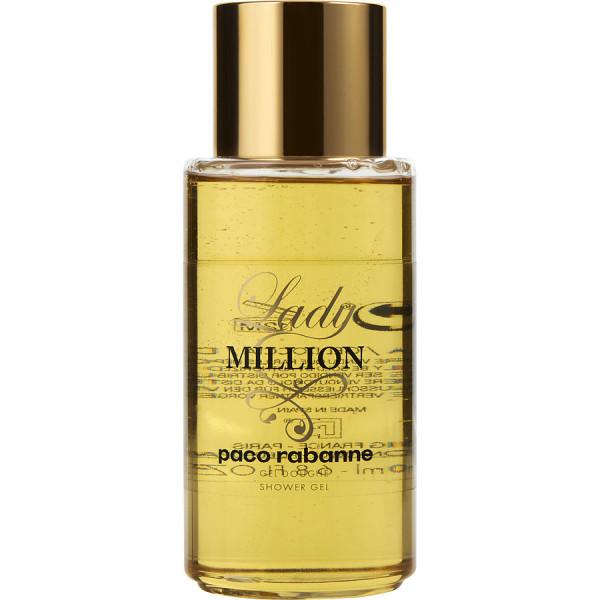 Lady million -  gel douche 200 ml