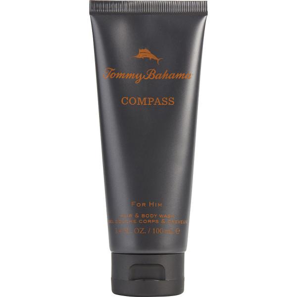 Compass -  gel douche corps et cheveux 100 ml