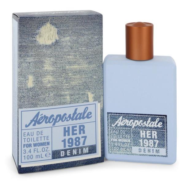 Her 1987 denim - aéropostale eau de toilette spray 100 ml