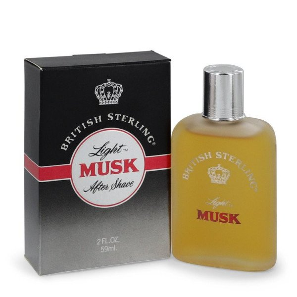 British sterling light musk -  après-rasage 60 ml