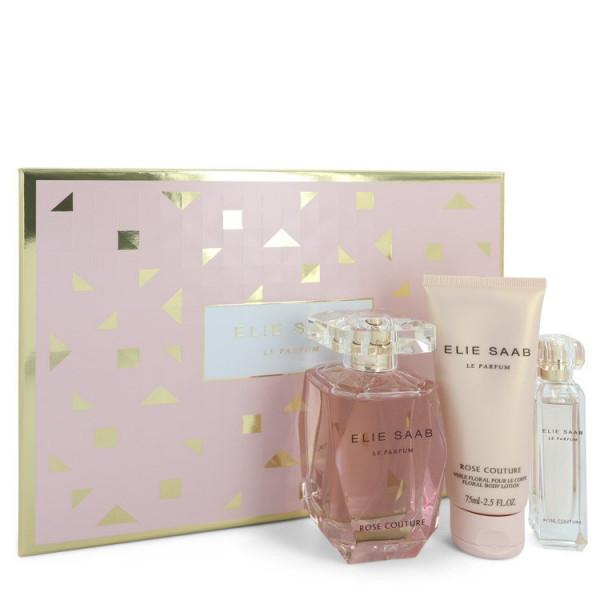 Le parfum elie saab rose couture - elie saab coffret cadeau 90 ml
