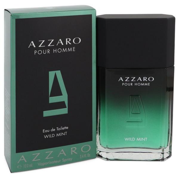 Azzaro pour homme wild mint -  eau de toilette spray 100 g
